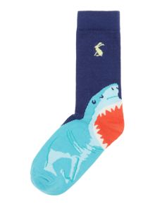 Joules Boys Shark socks