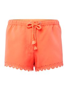Seafolly Bella lazer cut board shorts
