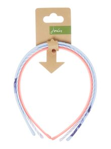 Joules Girls 3 Pack Headbands