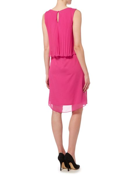 Shubette Pleated Cropped Dress