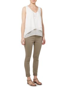 Gray & Willow Hannah layered top