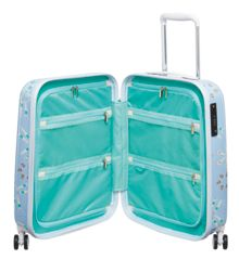 Radley Lido blue 8 wheel hard cabin suitcase