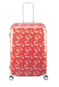Radley Fleet street orange 8 wheel hard large suitcase