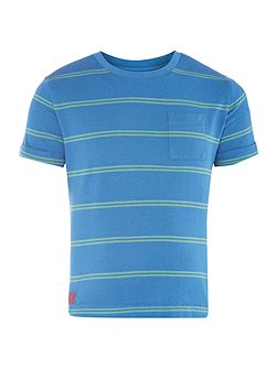 Boys Stripe t-shirt with pocket