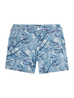 Boys Palm Tree Printed Chino shorts