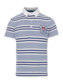 Howick Junior Boys Multi Stripe Rugby Top