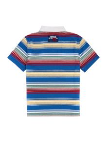 Howick Junior Boys Multi Stripe Polo Shirt