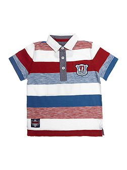 Boys Block Stripe Rugby Top