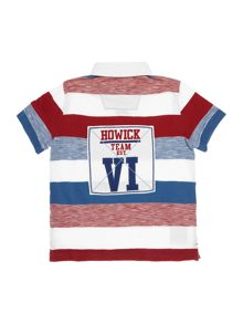 Howick Junior Boys Block Stripe Rugby Top