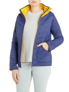 Barbour Bowline quilted hooded jacket