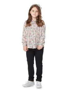 Little Dickins & Jones Girls Dark wash jeggings