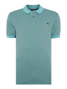 Paul Smith Jeans Regular fit monkey badge polo shirt