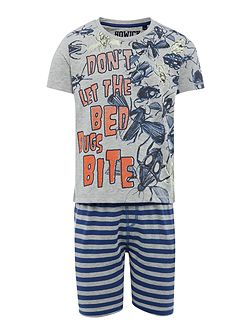 Boys Glow in the Dark PJ Top With