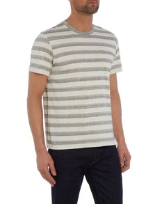 Paul Smith Jeans Regular fit crew neck wide space stripe t shirt