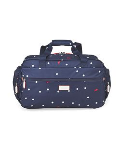 Cheshire street navy small duffle bag