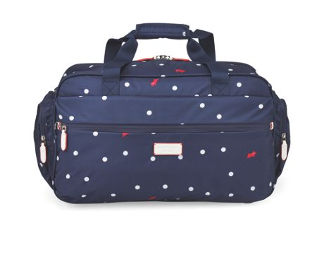 Radley Cheshire street navy small duffle bag