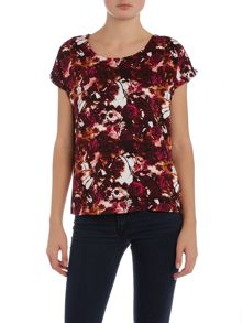 Vero Moda Short Sleeved Twill Top
