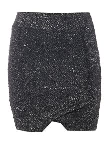 Vero Moda Sequin Mini Skirt