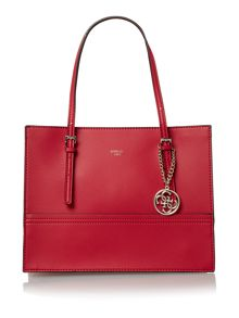 Guess Ashling red tote bag