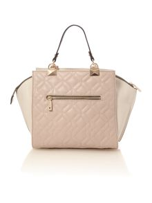 Guess Ines multi quilted tote crossbody bag