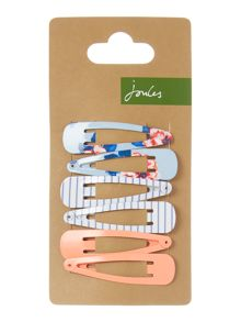 Joules Girls 3 Pack Hair Slides