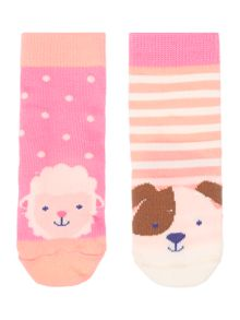 Joules Girls Sheep and Dog socks