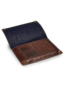 Leather a4 document holder