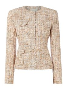 Linea Made in britain edie tweed jacket