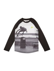 Nike Boys Photo Graphic T-shirt