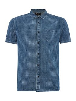 Lever Printed Denim Shirt