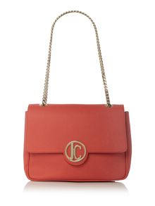 Just Cavalli Red shoulder bag