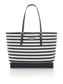 Tommy Hilfiger Honey stripe medium tote bag