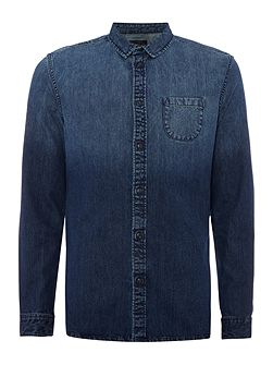 Unis Faded Denim Shirt