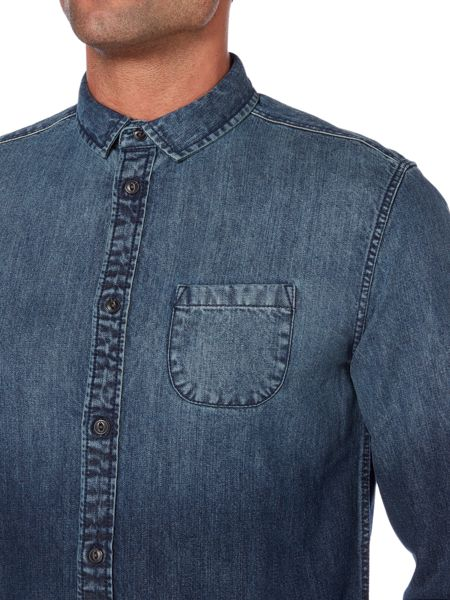 Label Lab Unis Faded Denim Shirt