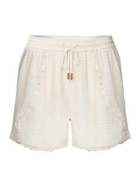 Biba Textured beaded shorts