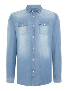 Jack & Jones Long Sleeve Denim Shirt