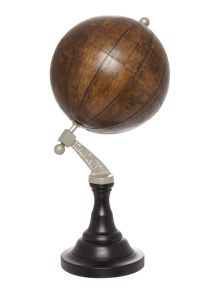 Linea Leather globe