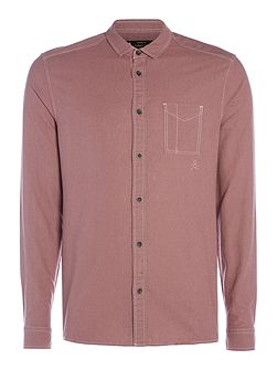 Telsa Linen Long Sleeve Washed Shirt