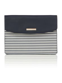 Tommy Hilfiger Stripe pouch clutch bag