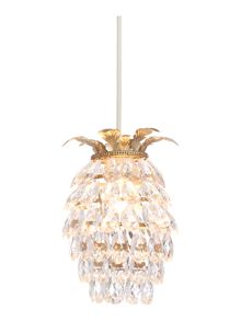 Linea Oasis Pineapple Easy Fit Pendant