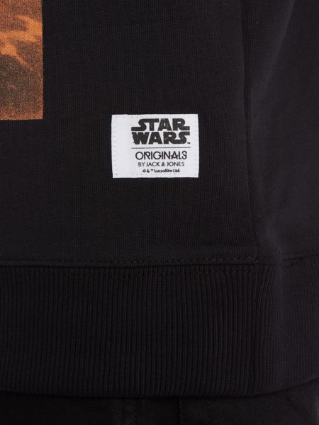 Jack & Jones Star Wars Graphic Crew Neck Sweatshirt