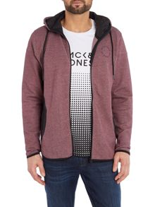 Jack & Jones Panel Pocket Hooded Sweatshirt