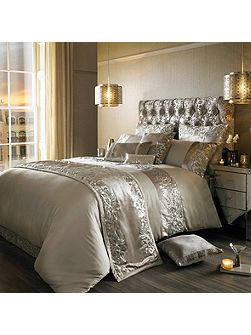 Scroll Praline Duvet Cover