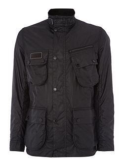 Men's Barbour International wax jacket
