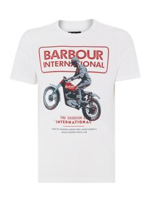 Barbour Sport Rider Crew-Neck T-shirt