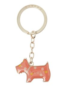Cheshire street coral keyring