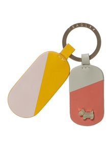 Radley Lollipops multi coloured keyring