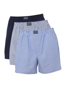 Polo Ralph Lauren Ralph lauren stripe check and solid boxer set