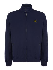 Lyle and Scott Check Lined Harrington Jacket