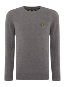 Lyle and Scott Crew Neck Merino Mix Jumper